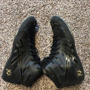 Original Jordan Burroughs wrestling shoes